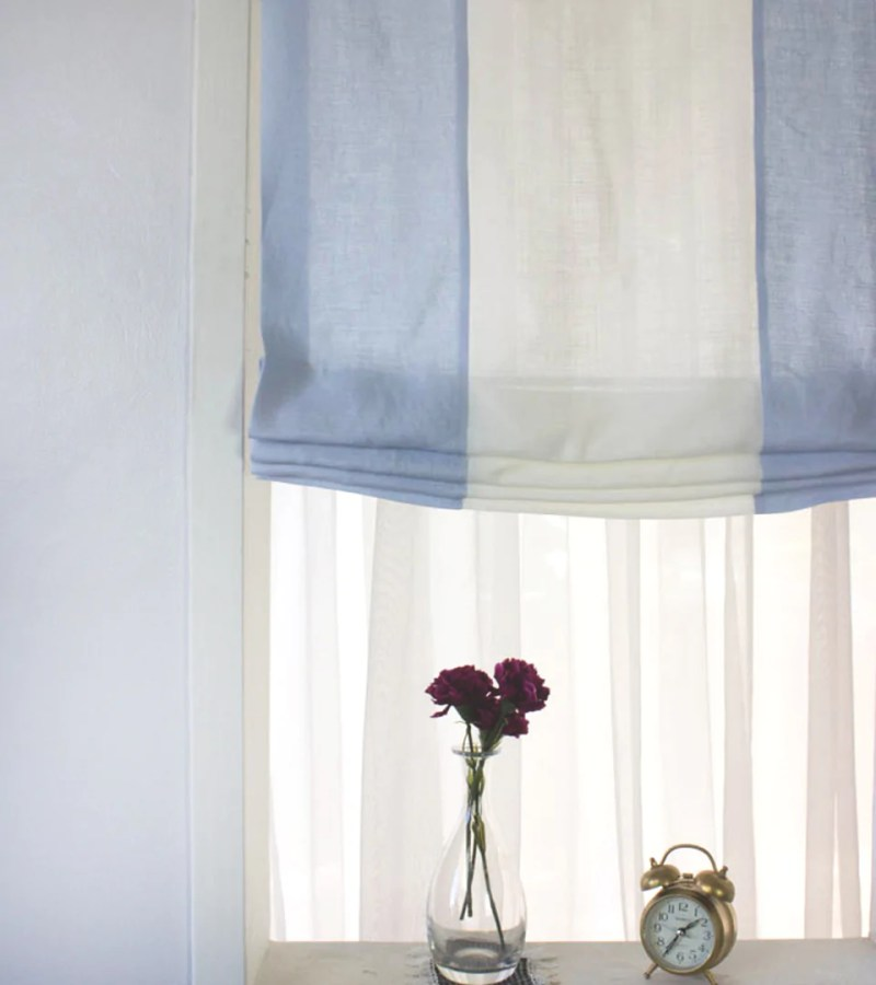 Large Of Relaxed Roman Shades