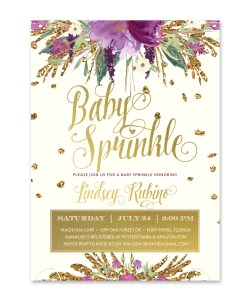 Small Of Baby Sprinkle Invitations