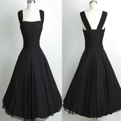 Medium Of Simple Black Dress