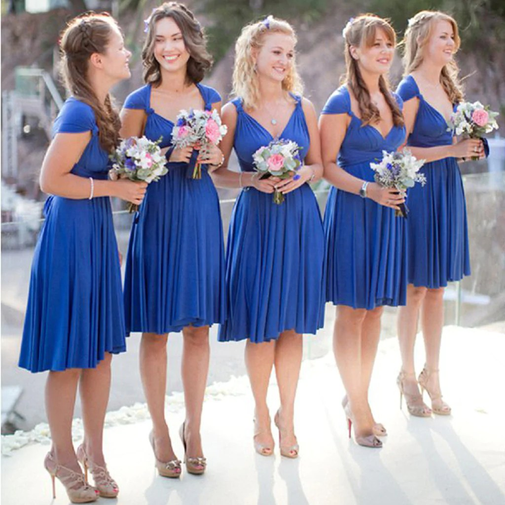 Pretentious Summer Royal Blue Bridesmaid Dresses Under 50 Royal Blue Bridesmaid Dresses Ebay Royal Blue Short Convertible Jersey Bridesmaid Dresses Summer Royal Blue Short Convertible Jersey Bridesmai wedding dress Royal Blue Bridesmaid Dresses