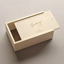 Small Of Wooden Keepsake Box