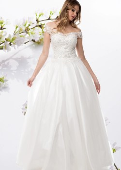 White Train Cap Sleeve Off Shoulder Ball Gown Wedding Dress Simplyfab Dress Off Shoulder Ball Gown Wedding Dress Simply Fab Dress Ball Gown Wedding Dresses Used Ball Gown Wedding Dresses