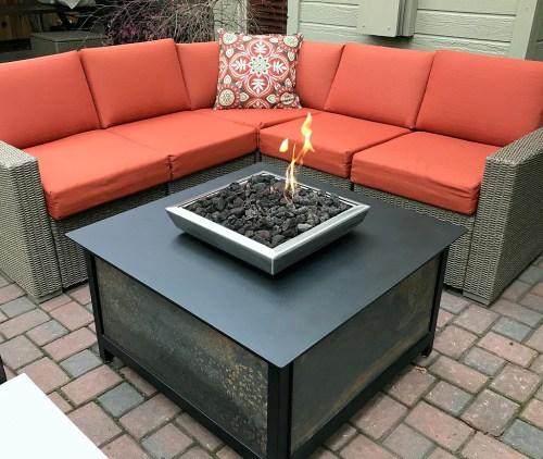 Medium Of Gas Fire Table