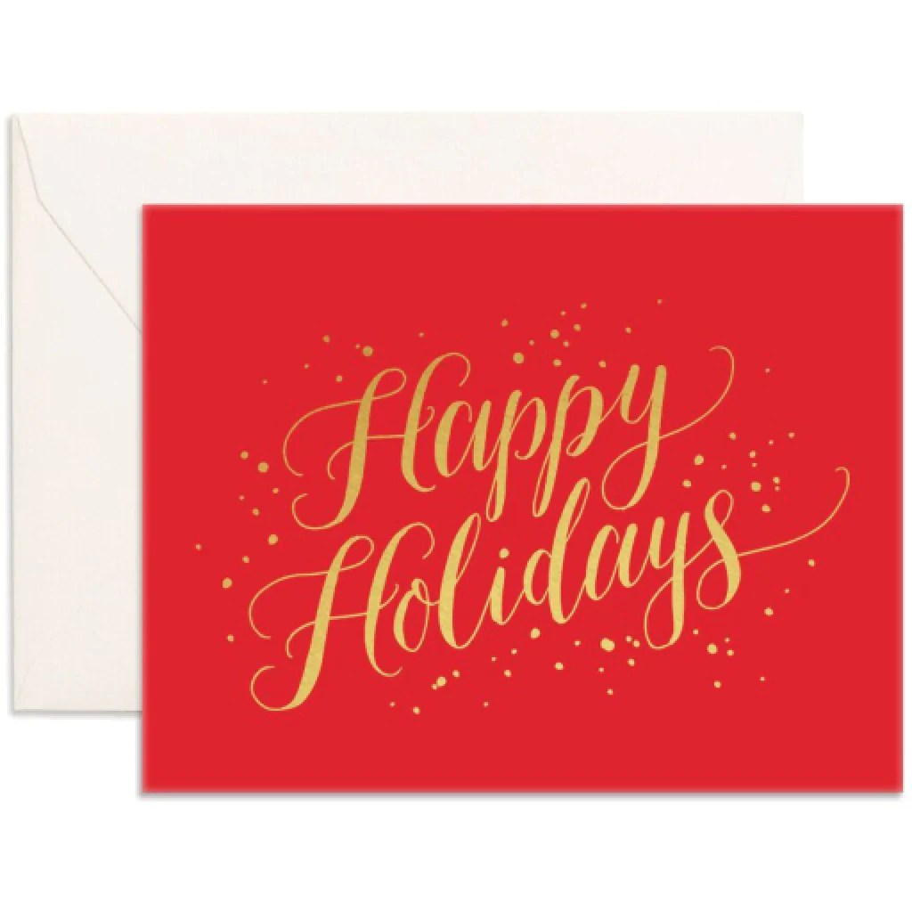 Lummy Happy Holidays Card By Fox Fallow Outer Layer Happy Holidays Cards Images Happy Holidays Cards Amazon cards Happy Holidays Cards
