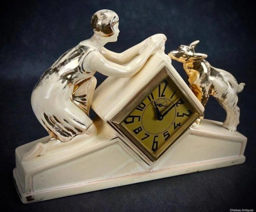 Medium Of Art Deco Clock