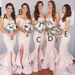 Small Of Blush Pink Bridesmaid Dresses