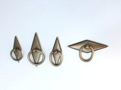 Distinctive Rhombus Geometric Brass Drawer Pulls Brass Cabinet Geometric Brass Drawer Pulls Brass Cabinet Hardware Rhombus Geometric Brass Drawer Pulls Forge Hardware Studio