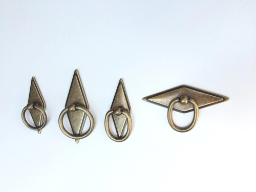 Distinctive Rhombus Geometric Brass Drawer Pulls Brass Cabinet Geometric Brass Drawer Pulls Brass Cabinet Hardware Rhombus Geometric Brass Drawer Pulls Forge Hardware Studio