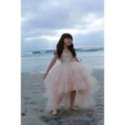 Impressive Low Flower Girl Dress Rose G Pink Haley Boutique G Flower Girl Dress Sequin G Flower Girl Dresses Cheap Emmy Hi Rose G Emmy Hi Low Flower Girl Dress