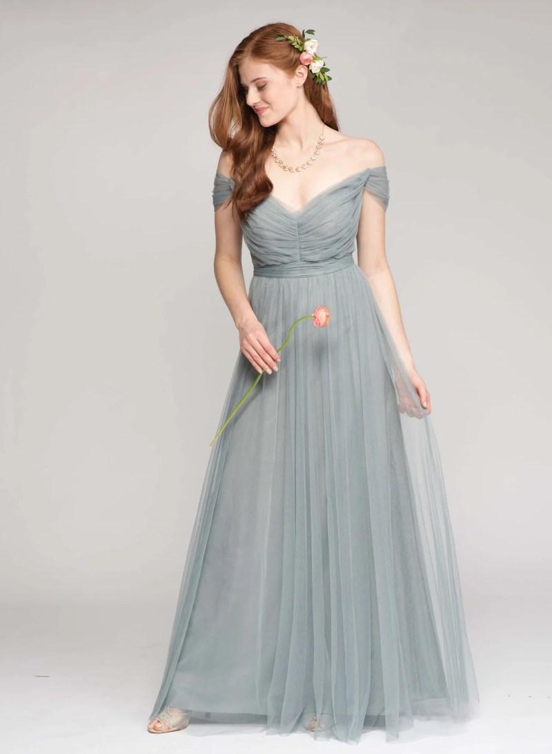 Large Of Slate Blue Bridesmaid Dresses