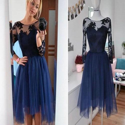 Medium Of Long Sleeve Homecoming Dresses