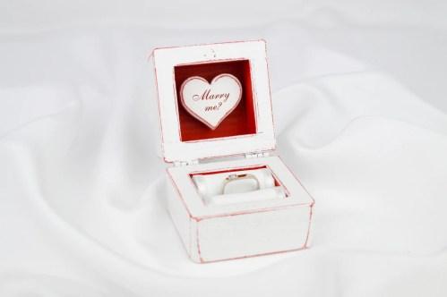 Medium Of Engagement Ring Box