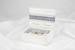 Artistic Ring Bearer Box G Ring Bearer Box Etsy Grey Wedding Ring Custom Made Flower Ring Bearer Box Gregolino Wedding Ring Custom Made Flower Ring Bearer Box Grey