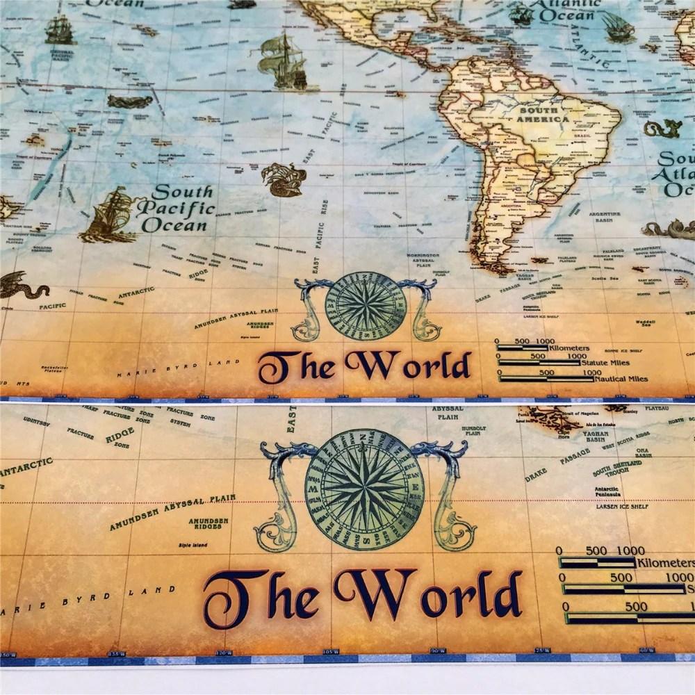 Astounding Nostalgic Kraft Paper Vintage Poster Painting 67a0d19a 033a 4243 A6ef Ba4f64e74ea8 1024x1024 Tos Database World Map Tos Neet World Map Cuadros Decor Vintage World Map Wall Art S baby Tos World Map