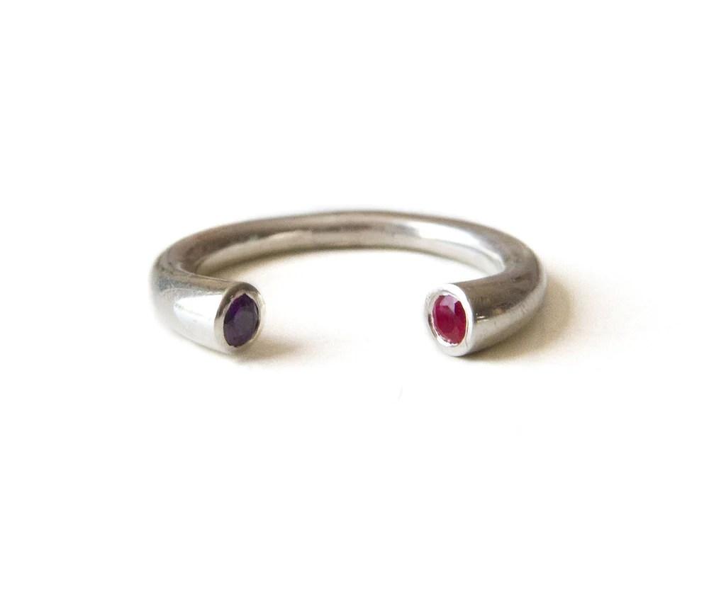 Fullsize Of Stackable Birthstone Rings