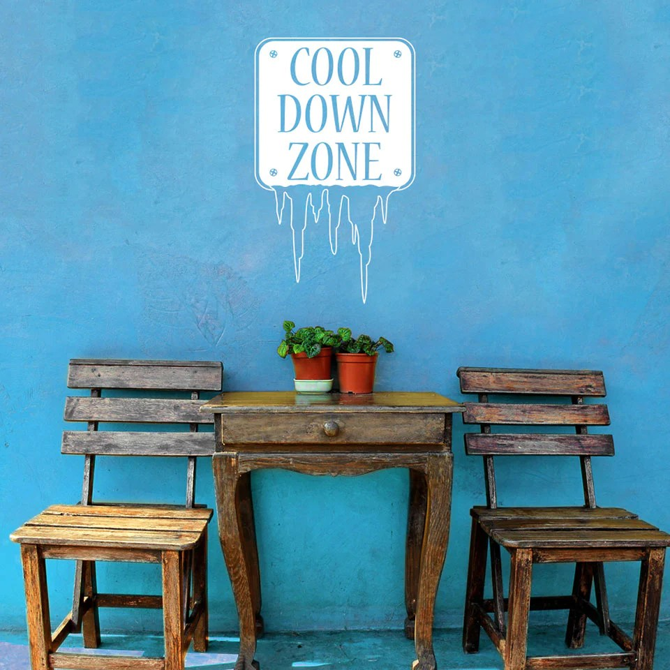 Especial Decal Down Wall Decal Style Apply How To Down A Room Without Ac How To Down A Room Ly houzz 01 How To Cool Down A Room