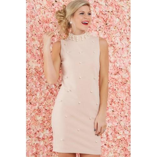 Medium Crop Of Blush Pink Dress