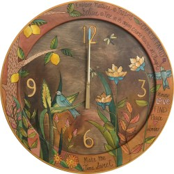Small Of Floating Wall Clock