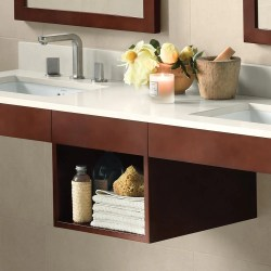 Wood Shelf For Bathroom