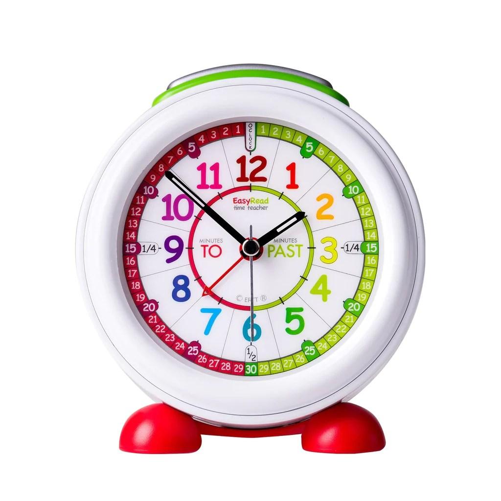 Plush Easyread Alarm Clock Past To Rainbow Face Easyread Alarm Clock Past To Rainbow Face Countryside Kids Kids Alarm Clock Color Kids Alarm Clock Projection baby Kids Alarm Clock