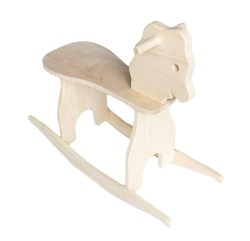 Indulging Wooden Rocking Horse August Kinn Wooden Rocking Horse Toddlers Wooden Rocking Horse Vintage
