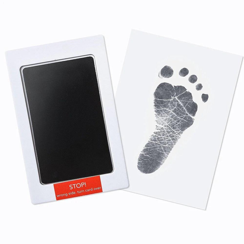 Staggering Premium Ink Baby Footprint Handprint Ink Pad Premium Ink Baby Footprint Handprint Ink Pad Up Raise Baby Footprint Vector Baby Footprint M baby Baby Foot Print
