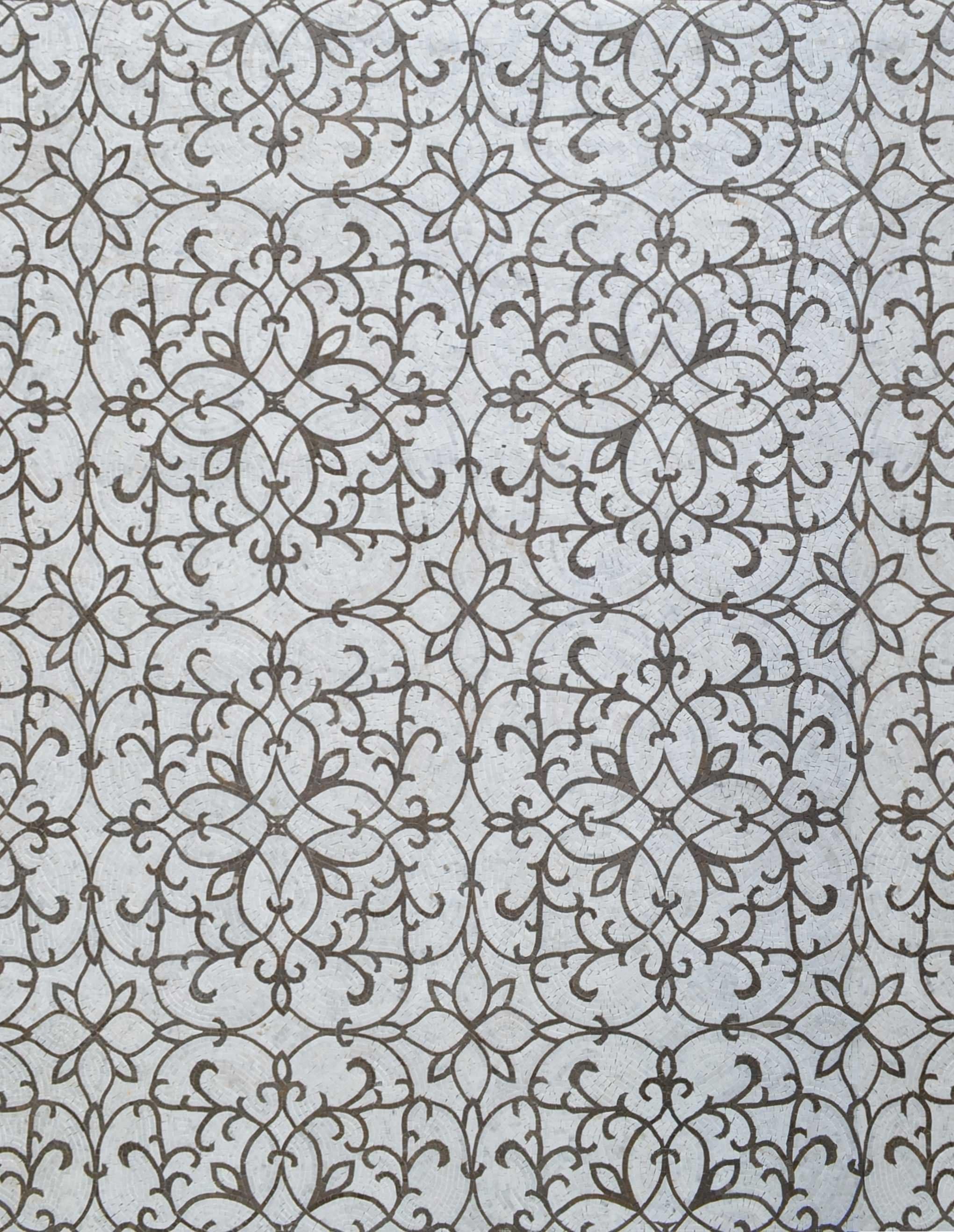 Rummy Patterned Floral Design On Marble Mosaic Tile Art Patterned Floral Design On Marble Mosaic Tile Art Patterns Mozaico Marble Mosaic Tile Hexagon Marble Mosaic Tiles Perth houzz 01 Marble Mosaic Tile
