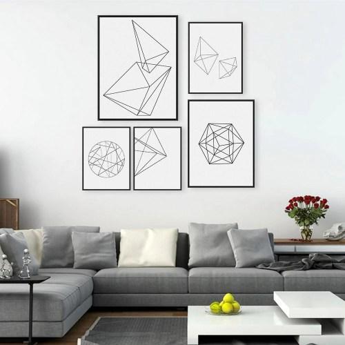 Medium Of Black And White Wall Art