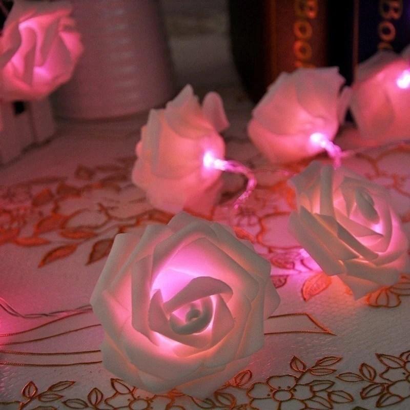 3 0m 1020 Rose Christmas Decoration String Lights Simulation Led
