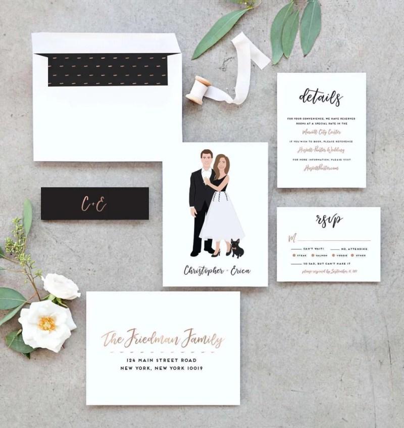 Large Of Wedding Invitation Suite