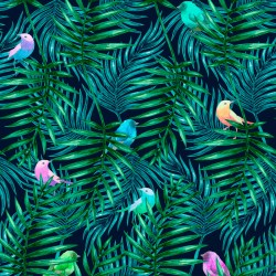 Small Crop Of Palm Leaves Wallpaper