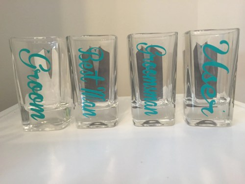 Medium Of Personalized Shot Glasses