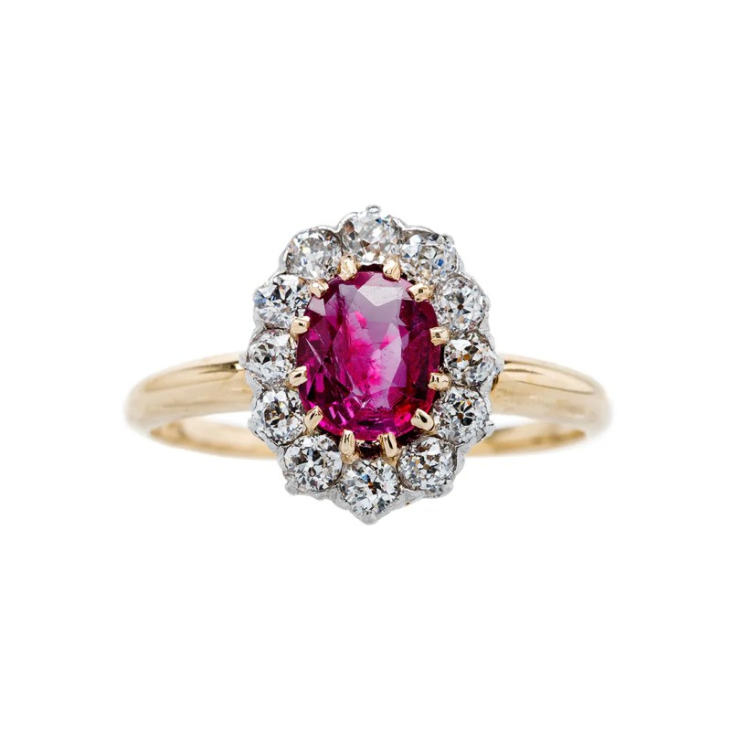 Large Of Ruby Engagement Rings