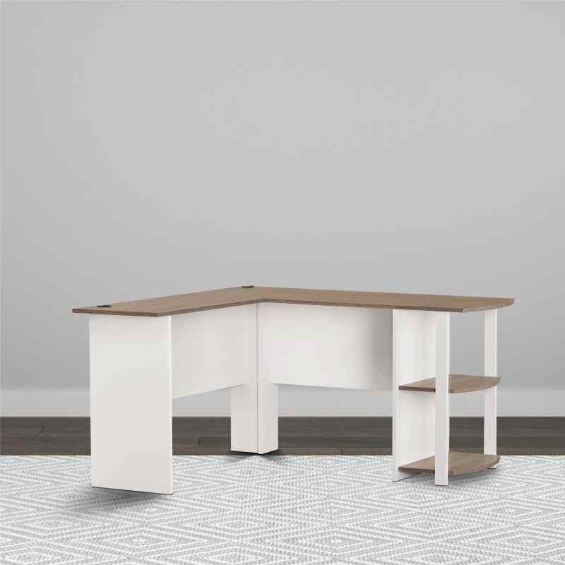 Large Of White L Shaped Desk