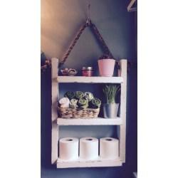 Small Crop Of Bathroom Hanging Shelf
