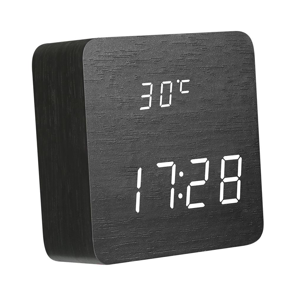 Preferential Wooden Alarm Clock Off Wooden Alarm Clock Off Dazel Shop Digital Alarm Clocks Digital Table Clock furniture Fancy Digital Clock
