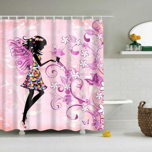 Medium Of Butterfly Shower Curtain