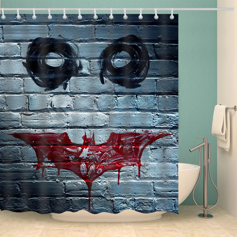 Eye Knight Movie Poster Batman Shower Curtain 1024x10242x Batman Fabric Shower Curtain Batman Shower Curtain Target baby Batman Shower Curtain