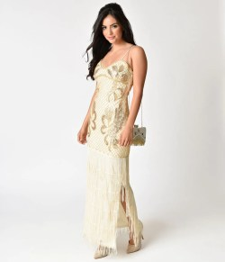 Small Of Gold Cocktail Dress