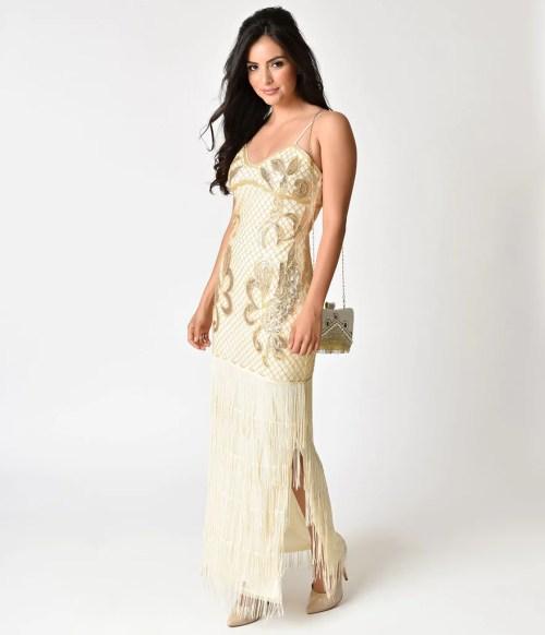 Medium Of Gold Cocktail Dress