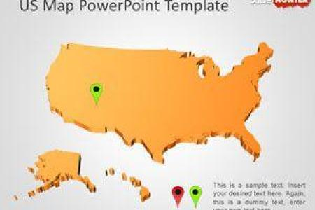 Map powerpoint template free 1161 us map powerpoint template 300x250 toneelgroepblik Images