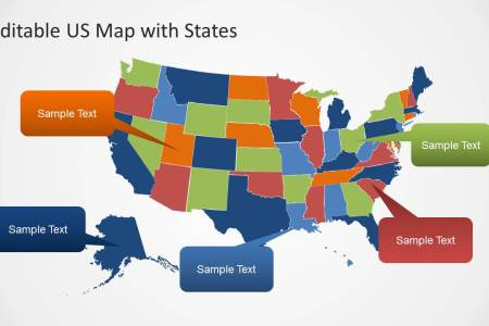 editable us map template for powerpoint with states