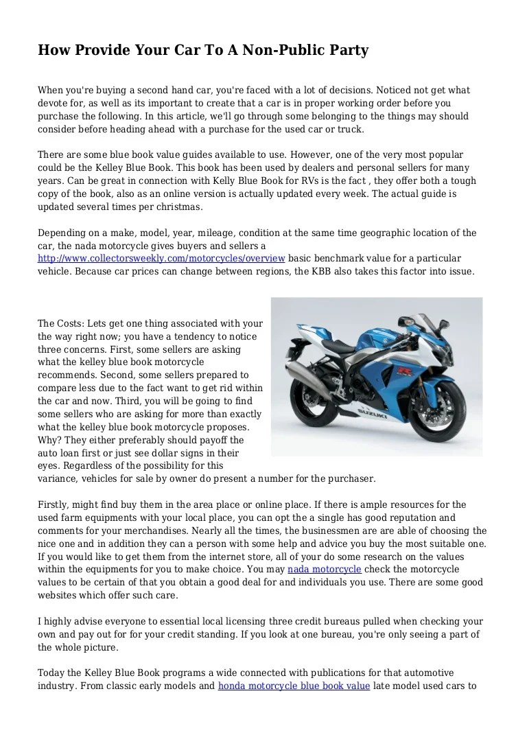 Motorcycle Blue Book Value With Mileage | disrespect1st.com
