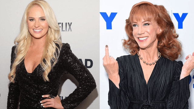 Kathy Griffin finally comes for Tomi Lahren s head  and the internet     Kathy Griffin finally comes for Tomi Lahren s head  and the internet is  here for it
