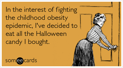 halloween candy ecards someecards Ready For Halloween?