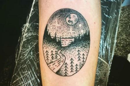 landscape tattoo21