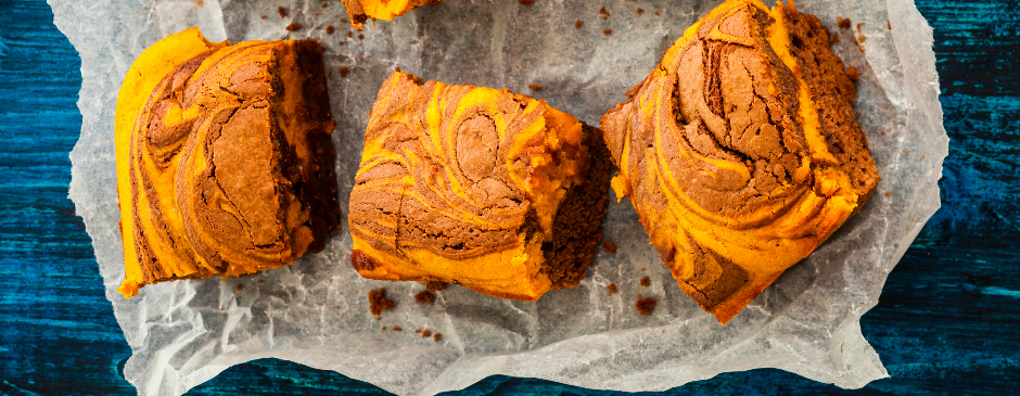 Pumpkin Spice Brownie Recipe