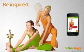 Pret a Yoga Lite iphone app