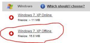 JAVA jre offline setup download