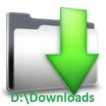 change default download location of chrome